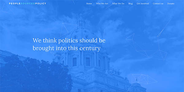 people sourced policy home page