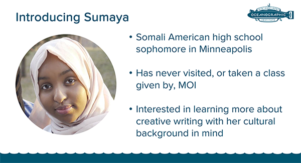 Persona for High School Student Sumaya